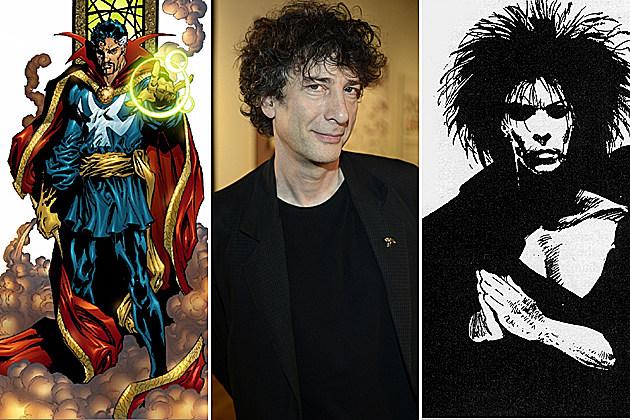 Neil Gaiman Movies Sandman Doctor Strange