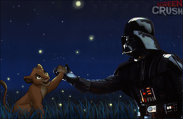 Darth Vader in The Lion King