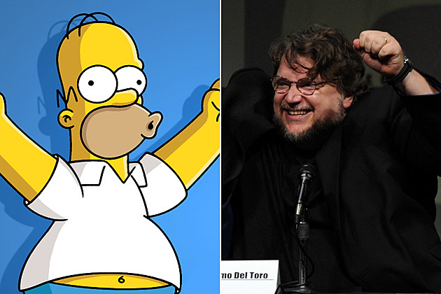 Comic-Con 2013 The Simpsons Guillermo del Toro