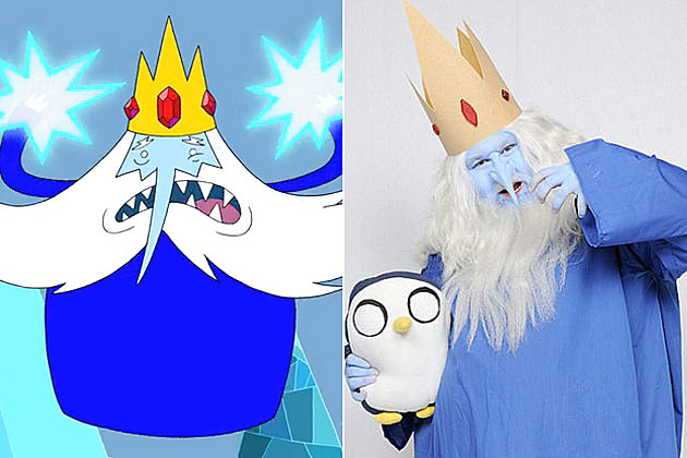 Cosplay Adventure Time Ice King