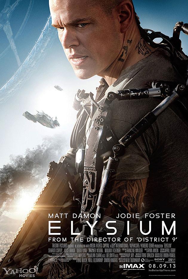 Elysium IMAX Poster