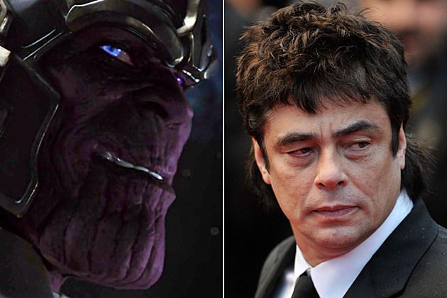 Thanos Benicio Del Toro