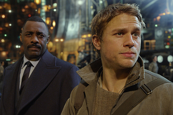 'Pacific Rim' Clip: Idris Elba Is About to Put a Smackdown on Charlie Hunnam