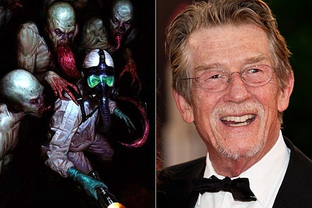 FX The Strain John Hurt Guillermo del Toro