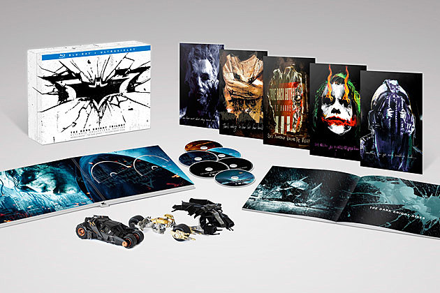 The Dark Kngiht Rises Blu ray box set