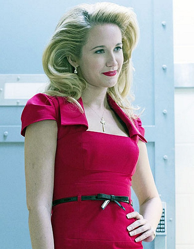 True Blood Season 6 Spoilers Sarah Newlin Anna Camp