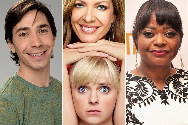CBS Mom Justin Long Octavia Spencer