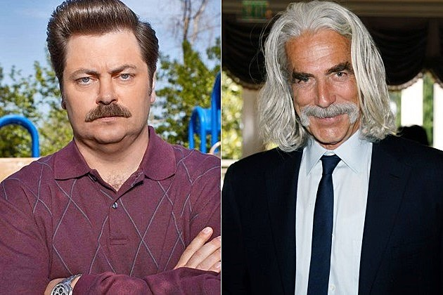Parks and Recreation Season 6 Sam Elliott Ron Swanson