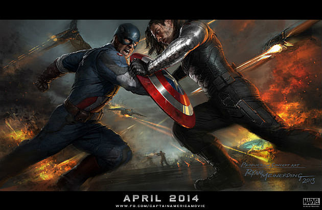 Captain America The Winter Soldier Concept Art Full