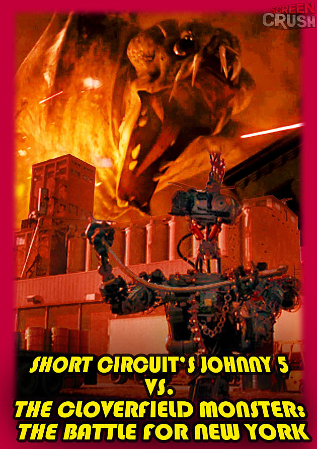 Cloverfield Monster Johnny 5