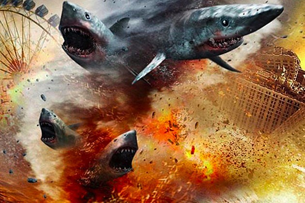 Sharknado / Торнадо от акули (2013)
