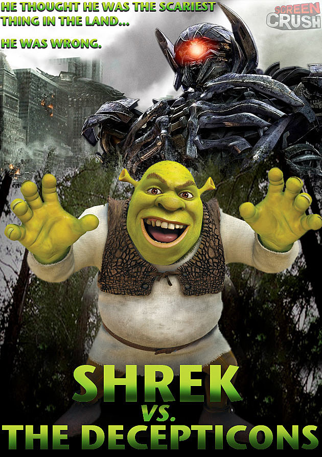 Shrek Decepticons