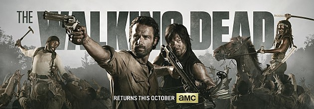 The Walking Dead Season 4 Banner Comic Con 2013