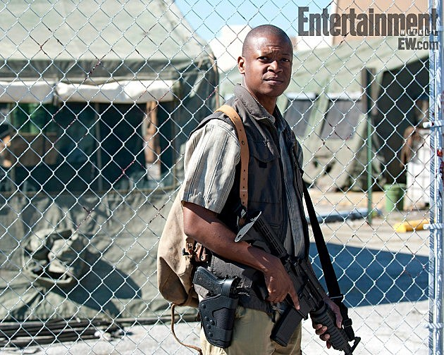 The Walking Dead Season 4 Lawrence Gilliard Jr Bob Stookey