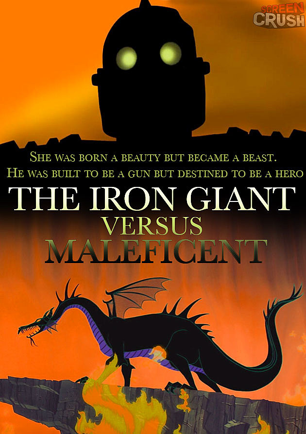 The Iron Giant Maleficent
