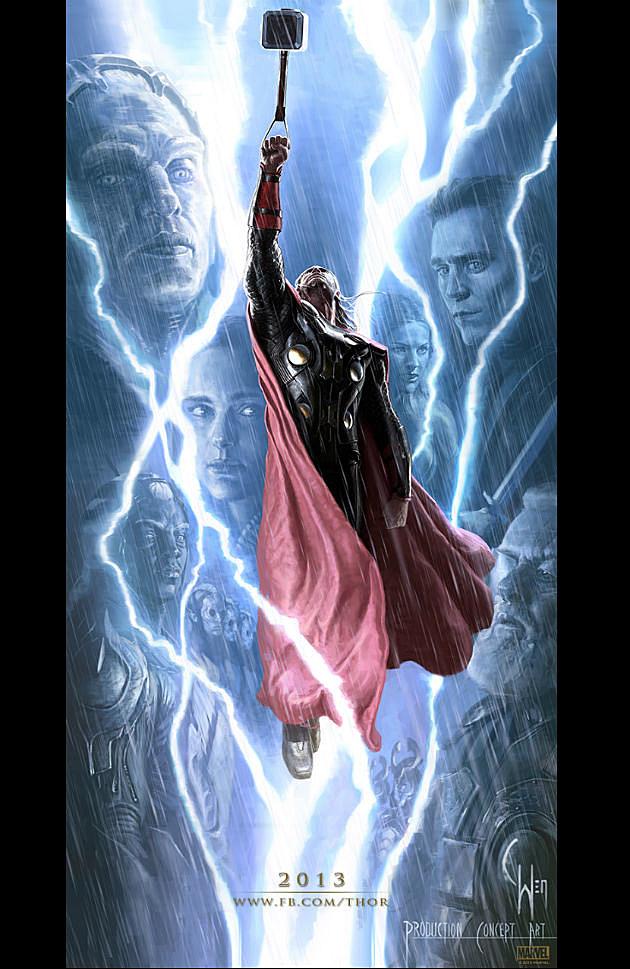 Thor 2 Concept Art Full