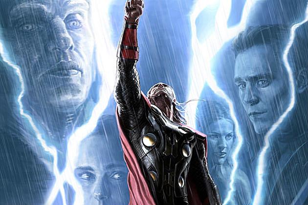Thor 2 Concept Art