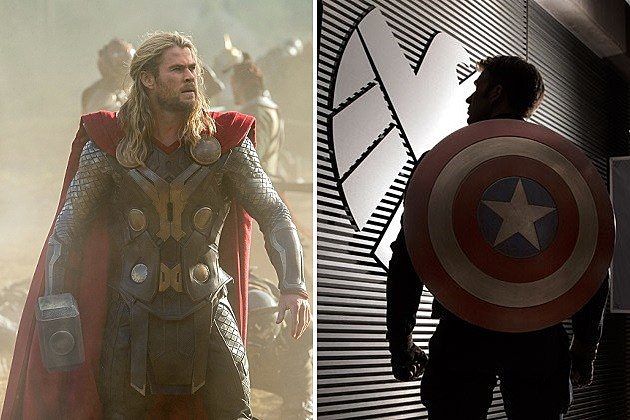 Thor: The Dark World, Captain America: The Winter Soldier