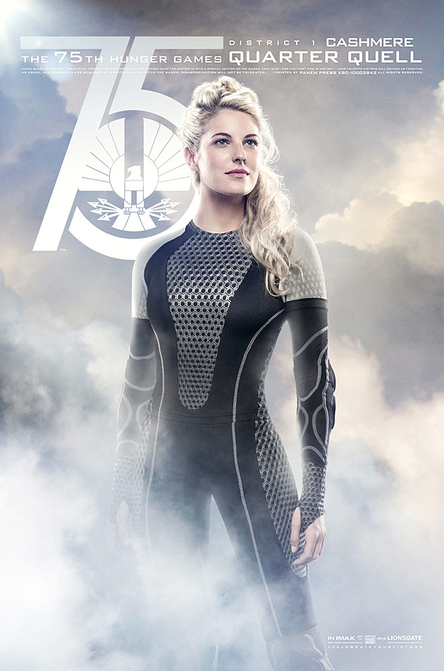 Catching Fire Poster Cashmere