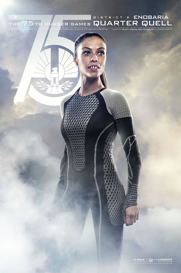 Catching Fire Poster Enobaria