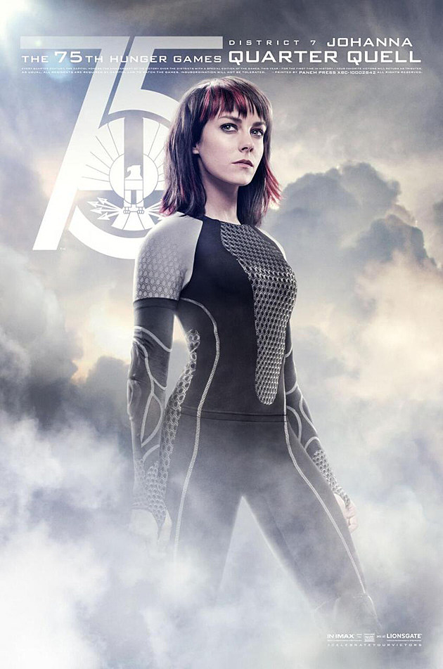 Catching Fire Poster Johanna