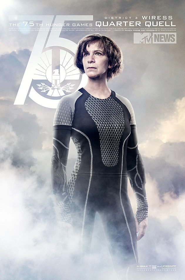 Catching Fire Poster Wiress