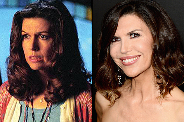 Charmed Then and Now Finola Hughes
