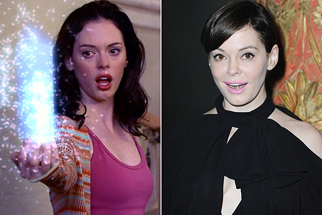 Charmed Then and Now Rose McGowan