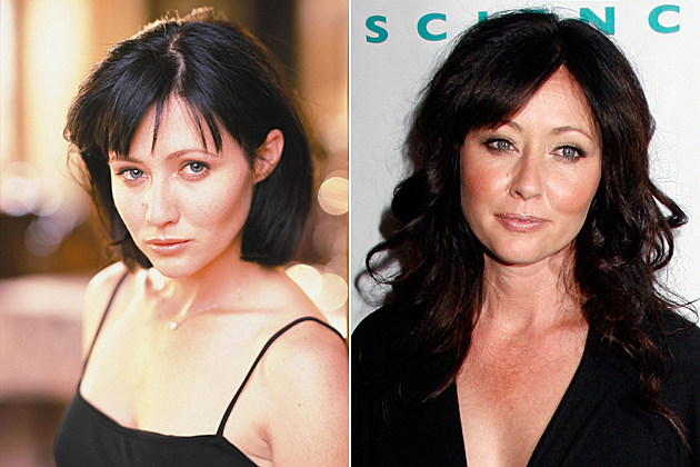 Charmed Then and Now Shannen Doherty