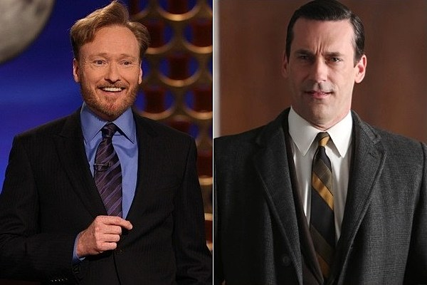 """'Conan' Spoofs 'Mad Men' with Vague """"Next On"""" Promos"""