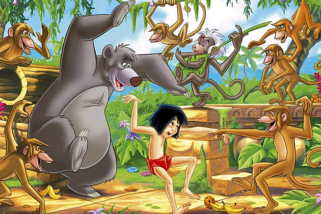 Jungle Book Reboot Disney
