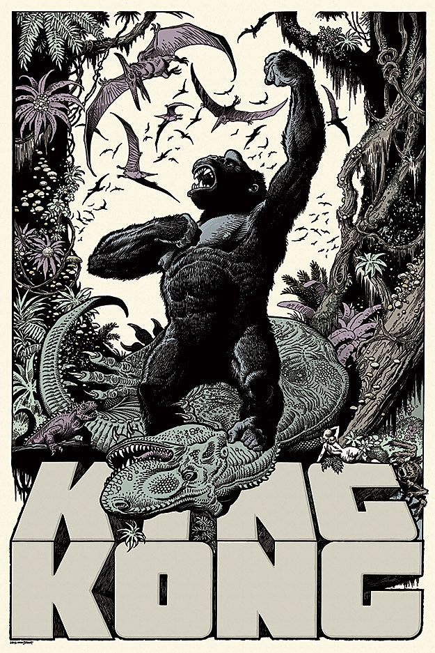 King Kong Mondo Comic Con 2013