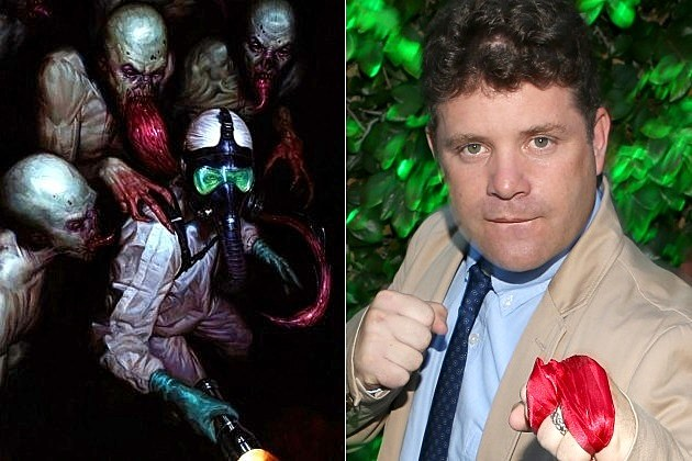 Guillermo del Toro The Strain FX Sean Astin Jim Kent