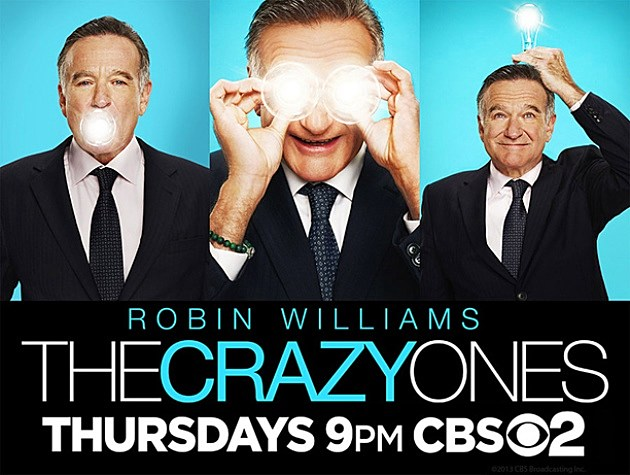 CBS The Crazy Ones Poster Fall 2013