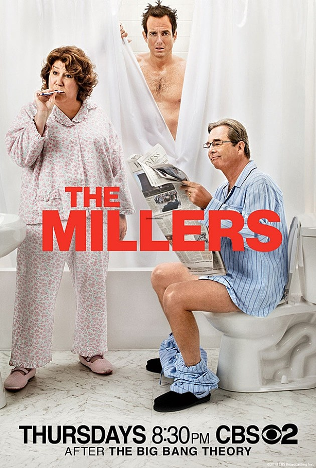CBS The Millers Poster Fall 2013