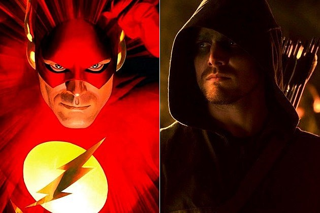 Flash TV Series Arrow Justice League
