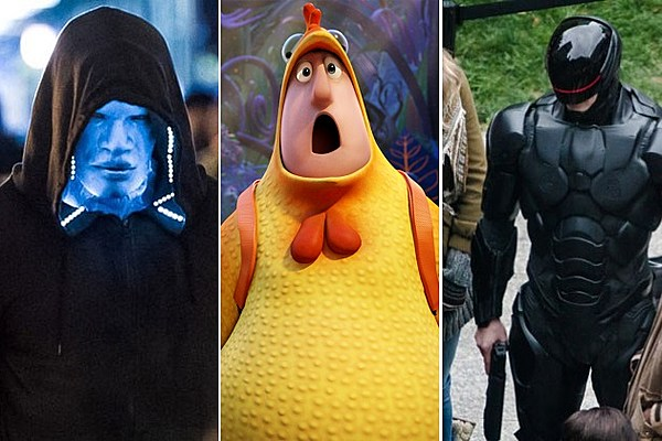 Comic-Con 2013: 'Robocop,' 'The Amazing Spider Man 2′ and 'Cloudy 2′ are Coming