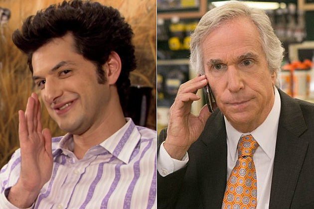 Parks and Recreation Season 6 Henry Winkler Jean Ralphio