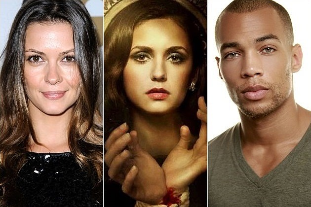 The Vampire Diaries Season 5 Olga Fonda Kendrick Sampson