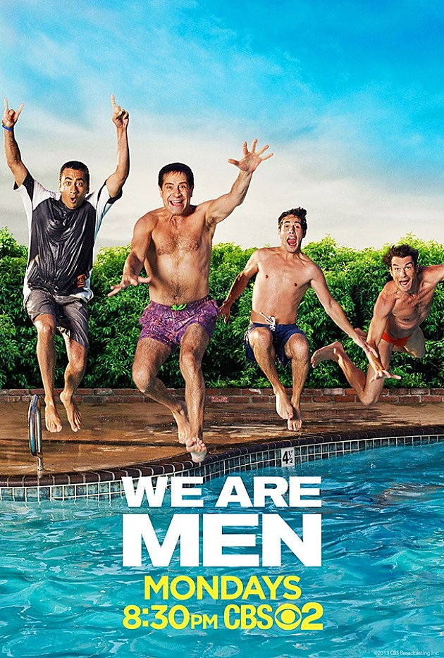CBS We Are Men Poster Fall 2013
