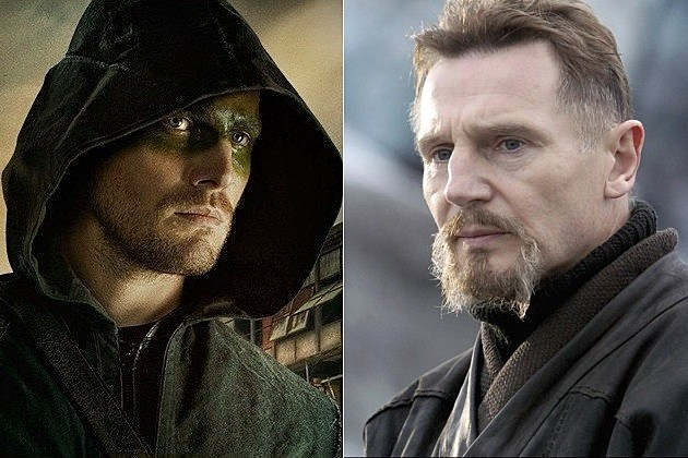 Arrow Season 2 Spoilers Demons Head Ras Al Ghul League of Assassins