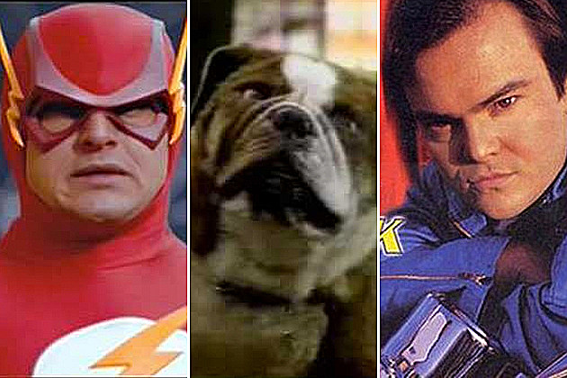 Justice League Pilot Poochinski Heat Vision and Jack