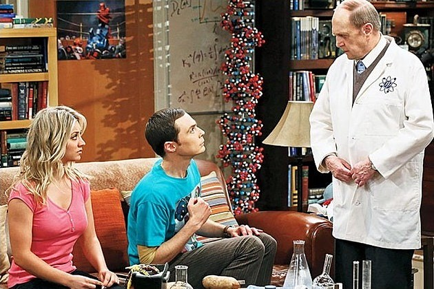 The Big Bang Theory Season 7 Bob Newhart