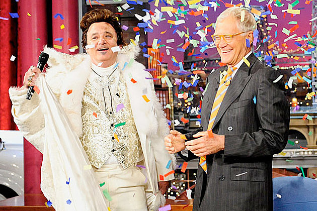 Bill Murray Liberace Letterman