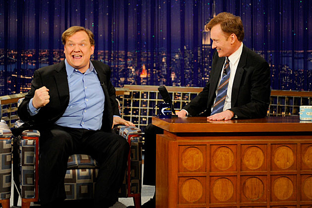 Late Night With Conan O Brien Then Now