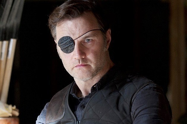 The Walking Dead Season 4 Governor David Morrissey Line of Sight