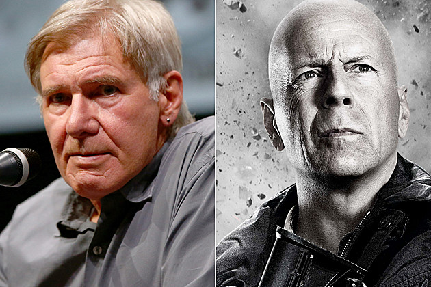 Expendables 3 Harrison Ford Bruce Willis