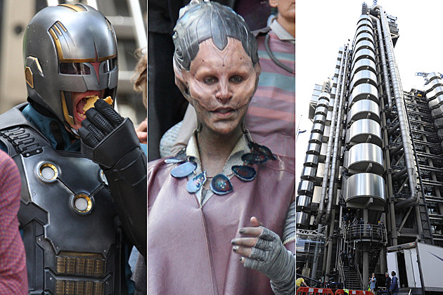 Guardians of the Galaxy Set Photos
