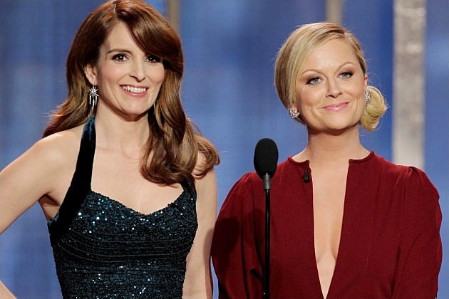 2014 Golden Globes Tina Fey Amy Poehler Host
