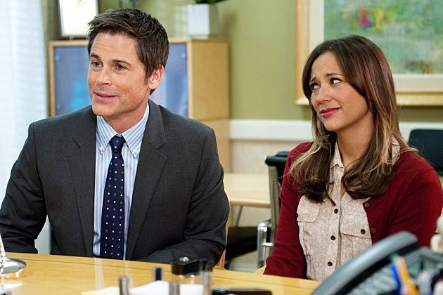 Parks and Recreation Rob Lowe Rashida Jones Mike Schur